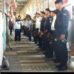 غبار روبی مزار شهدا به مناسبت روز دزفول