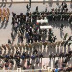 آیین تشیع پیکر شهیدان حادثه تروریستی اهواز