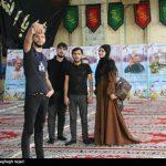 زائران اربعین حسینی از جمهوی آذربایجان میهمان مردم دزفول؛ عکس سلفی با شهدای مدافع حرم + تصاویر