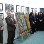 افتتاح نمایشگاه نقاشی در شهرستان دزفول