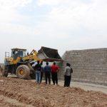 سازه های غیرمجاز هشت هکتار زمین کشاورزی دزفول تخریب شد