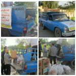 کمک های مردمی طلاب و روحانیون دزفول به مناطق سیل زده