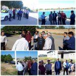 کمیسیون خدمات شهری بهداشت شورای اسلامی شهر دزفول از وضعیت ورزشگاه شهید ناحی و ساحل شرقی رودخانه دز