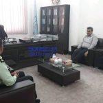 دیدار فرماندهی انتظامی جدید دزفول با دادستان این شهرستان