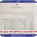 انتخابات هیئت رئیسه اتاق اصناف دزفول برگزارشد